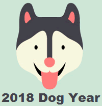 2018 Chinese Dog Year