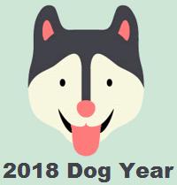 2018 Master Tsai Chinese Five Element Astrology - Dog Year