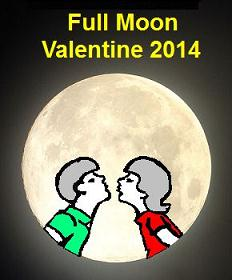 2014 Full Moon Valentine