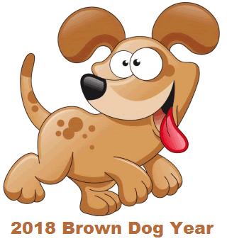 2018 Chinese New Year Zodiac Dog