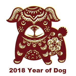 Image result for 2018 year of the dog