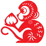 2016 Chinese Astrology Monkey